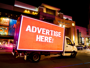 Mobile Billboard Ads