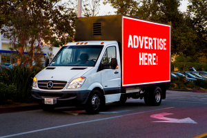 Mobile Billboard Advertisements